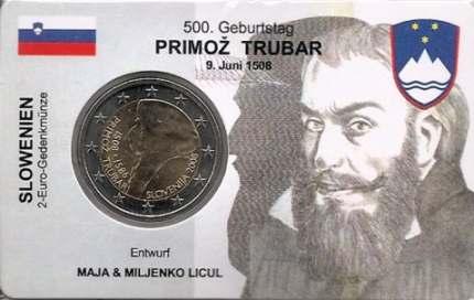 Slovénie 2eurocoincard